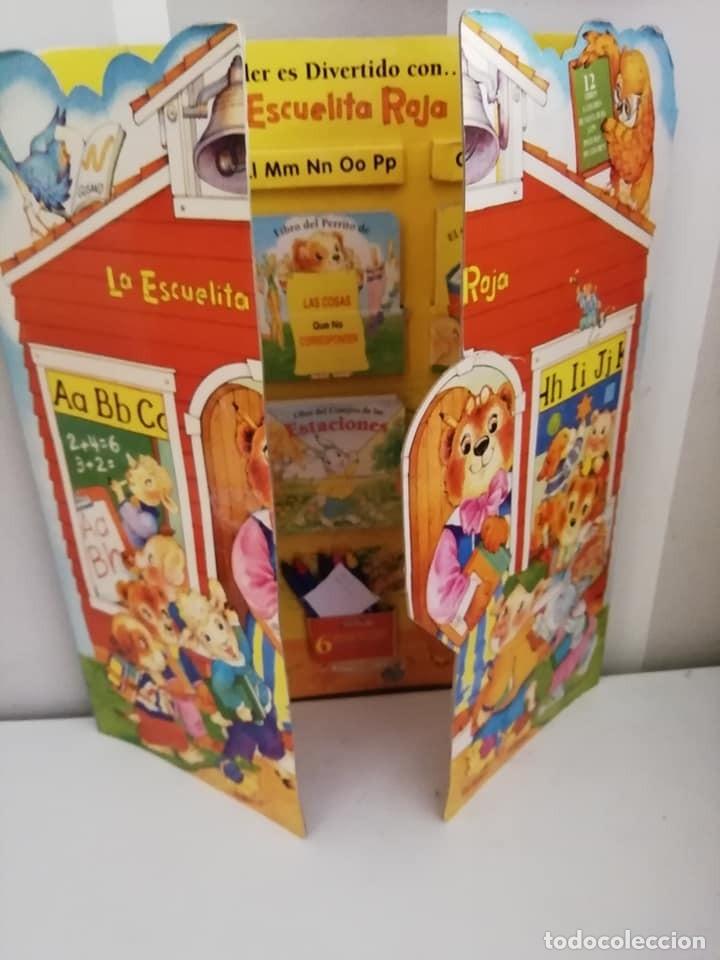 ESCUELA ROJA, ANTIGUO SET DE MINI CUENTOS. AÑOS 80-90 (Libros Antiguos, Raros y Curiosos - Literatura Infantil y Juvenil - Novela)
