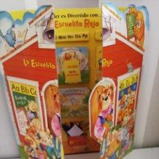 Libros antiguos: ESCUELA ROJA, ANTIGUO SET DE MINI CUENTOS. AÑOS 80-90. Lote 168324704