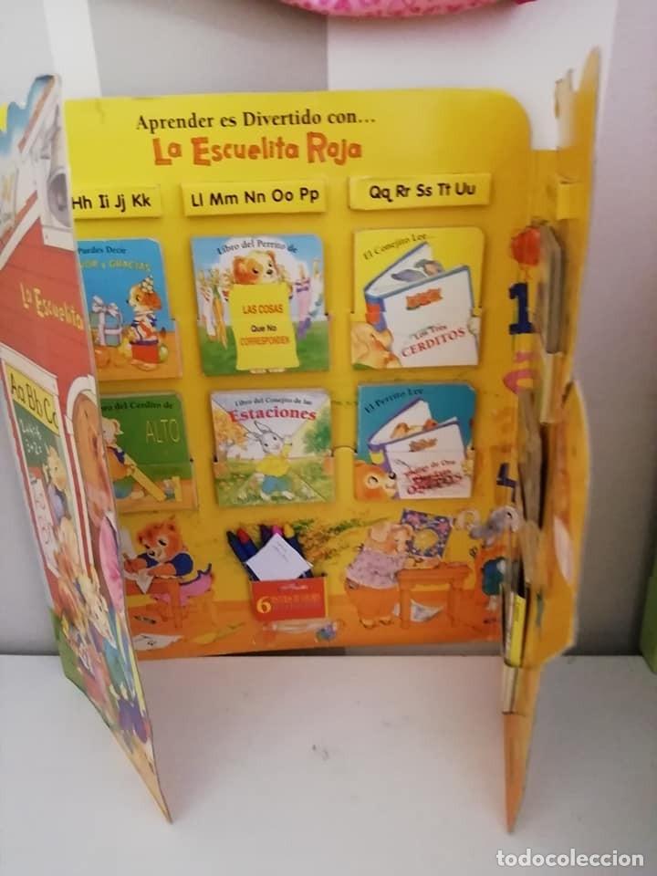 Libros antiguos: ESCUELA ROJA, Antiguo set de mini cuentos. Años 80-90 - Foto 4 - 168324704