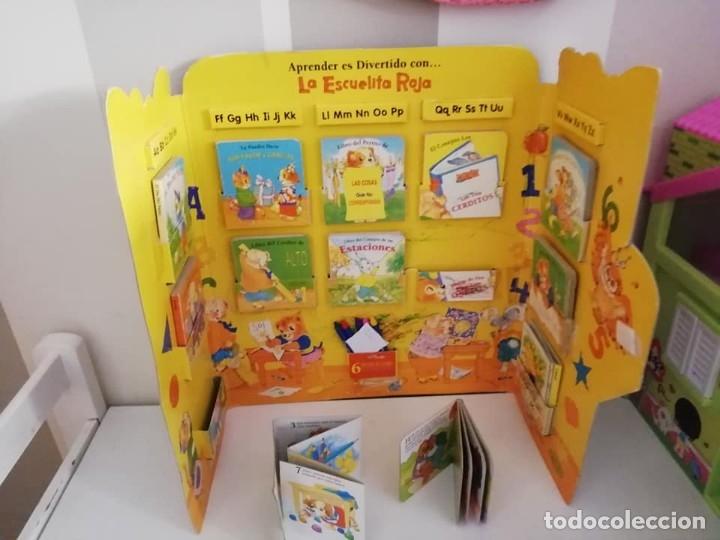 Libros antiguos: ESCUELA ROJA, Antiguo set de mini cuentos. Años 80-90 - Foto 3 - 168324704