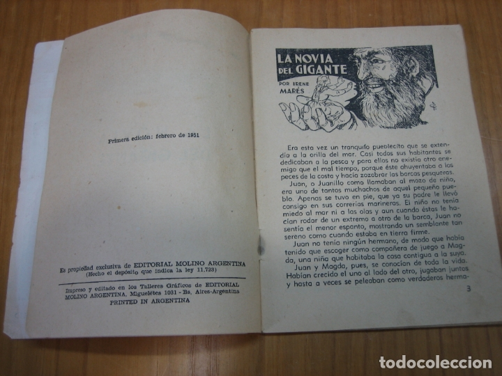 Libros antiguos: La novia del gigante - Foto 2 - 168702440