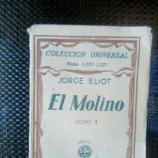 Libros antiguos: EL MOLINO TOMO II ESPASA-CALPE 1932 ( L-U). Lote 169212096