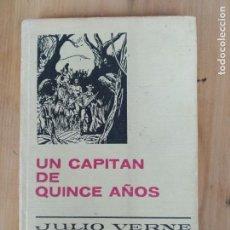 Libros antiguos: UN CAPITAN DE QUINCE AÑOS. JULIO VERNE, SERIE JULIO VERNE. COLECCIÓN HISTORIAS SELECCION. Lote 169958668