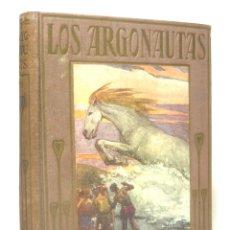 Libros antiguos: 1930 - LOS ARGONAUTAS. POEMA EPICO DE APOLONIO DE RODAS - LÁMINAS - MITOLOGÍA GRIEGA - ARALUCE. Lote 171546574