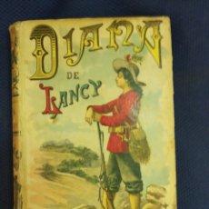 Libros antiguos: DIANA DE LANCY. DU TERRAIL, PONSON. AUTORES CELEBRES XXVIII. CALLEJA. MADRID, PRINC. S.XX. Lote 171527703