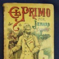 Libros antiguos: EL PRIMO CARDONA, JENARO. AUTORES CELEBRES LXXVIII. CALLEJA. MADRID, PRINC. S.XX. Lote 171528494