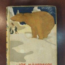 Libros antiguos: LOS NÁUFRAGOS DEL SPITZBERG. SALGARI. EMILIO. AUTORES CELEBRES 204. CALLEJA. MADRID, PRINC. S.XX. Lote 171528065