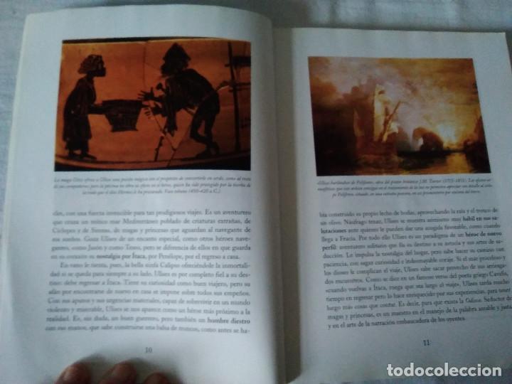 Libros antiguos: 123-LAS AVENTURAS DE ULYSES, La historia de la Odisea, Homero, Rosemary Sutcliff,2003,ilustrado - Foto 6 - 171636790