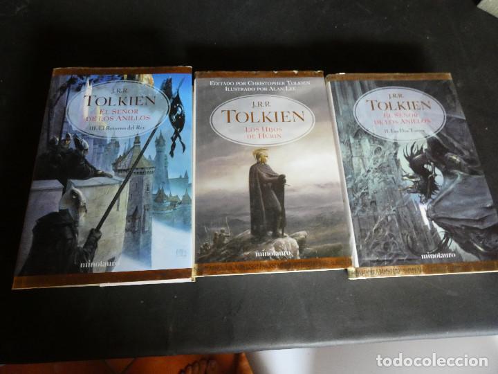 JRR TOLKIEN EL RETORNO DEL REY LUJOSA EDICION EN MINOTAURO 2002 PESA 1KG (Libros Antiguos, Raros y Curiosos - Literatura Infantil y Juvenil - Novela)