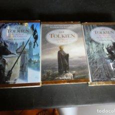 Libros antiguos: JRR TOLKIEN LAS DOS TORRES LUJOSA EDICION EN MINOTAURO 2002 PESA 1KG . Lote 171675400