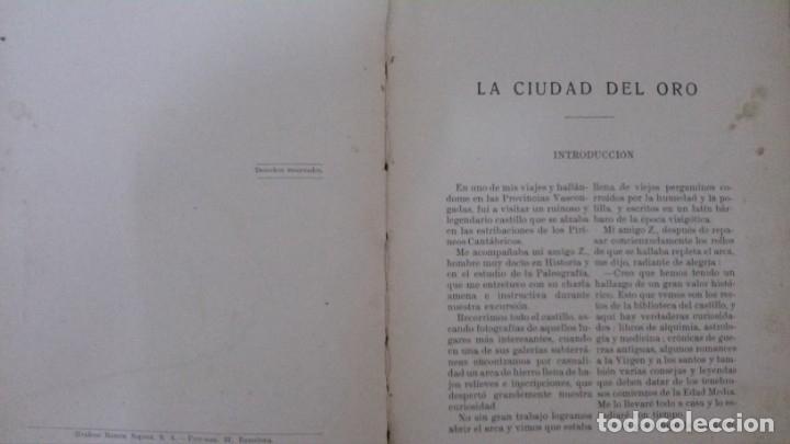 Libros antiguos: LA CIUDAD DEL ORO (LA HAZAÑA DE MIGUELÍN)-FEDERICO TRUJILLO-(EDITORIAL RAMÓN SOPENA-1934) - Foto 3 - 173071550