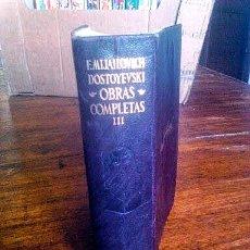 Libros antiguos: LIBRO DOSTOIEVSKI. Lote 173149998