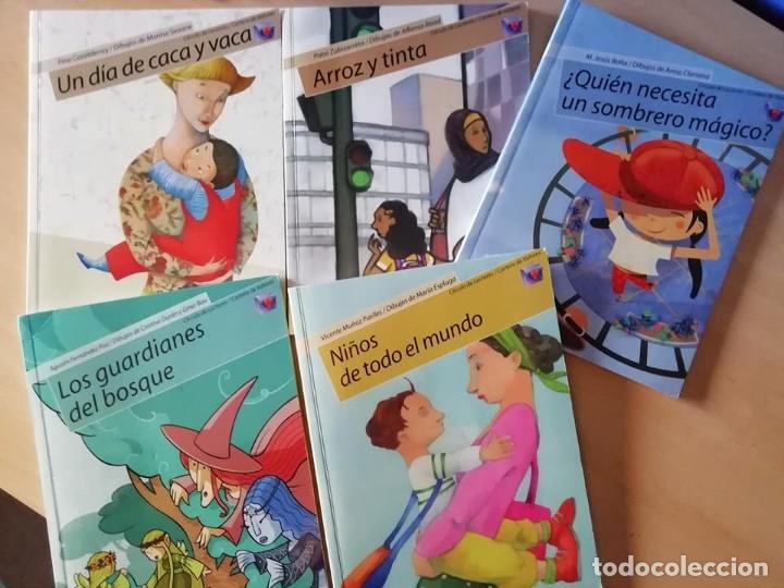 Libros antiguos: Libros de valores en cuento de temas asuntos y tiempos actuales. - Foto 7 - 168291352