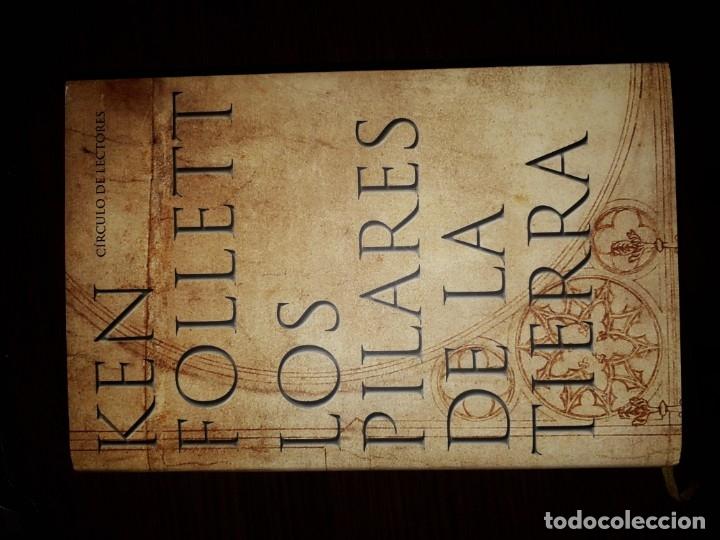 KEN FOLLET - LOS PILARES DE LA TIERRA (CÍRCULO DE LECTORES) (Libros Antiguos, Raros y Curiosos - Literatura Infantil y Juvenil - Novela)