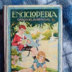 Libros antiguos: ANTIGUA ENCICLOPEDIA GRADO ELEMENTAL (538). Lote 174075077