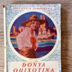 Libros antiguos: DONYA QUIXOTINA. Lote 174306168