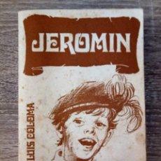 Libros antiguos: JEROMIN. Lote 174309224