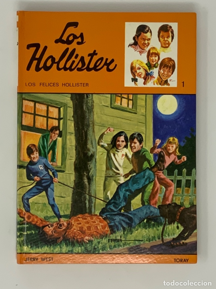 LOS HOLLISTER Nº 1 NOVENA EDICIÓN AÑO 1979 (Libros Antiguos, Raros y Curiosos - Literatura Infantil y Juvenil - Novela)