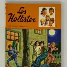 Libros antiguos: LOS HOLLISTER Nº 1 NOVENA EDICIÓN AÑO 1979. Lote 174463592