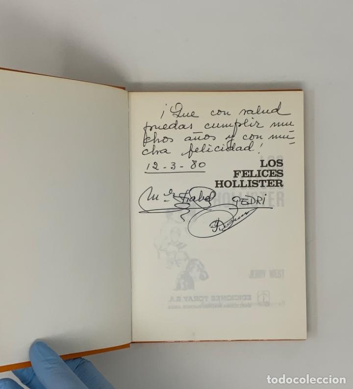 Libros antiguos: LOS HOLLISTER Nº 1 NOVENA EDICIÓN AÑO 1979 - Foto 6 - 174463592