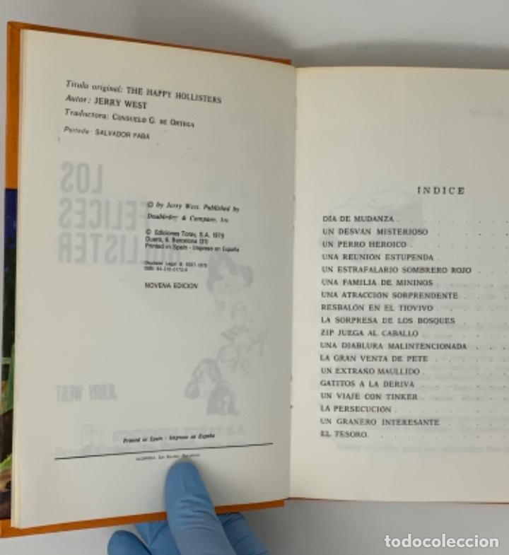 Libros antiguos: LOS HOLLISTER Nº 1 NOVENA EDICIÓN AÑO 1979 - Foto 7 - 174463592