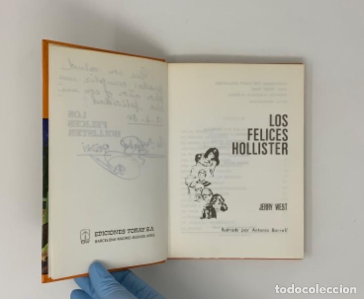 Libros antiguos: LOS HOLLISTER Nº 1 NOVENA EDICIÓN AÑO 1979 - Foto 8 - 174463592