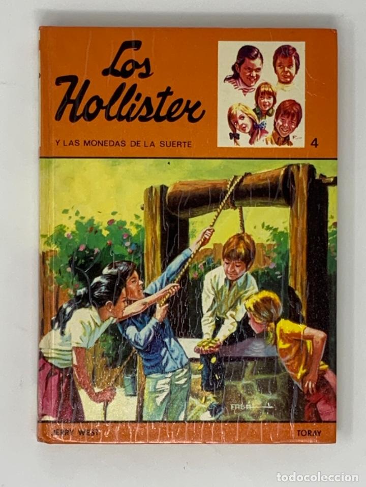 LOS HOLLISTER Nº 4. 11ª EDICIÓN AÑO 1980 (Libros Antiguos, Raros y Curiosos - Literatura Infantil y Juvenil - Novela)