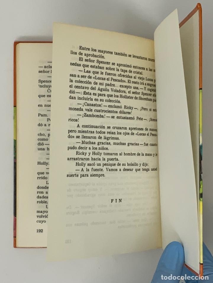 Libros antiguos: LOS HOLLISTER Nº 4. 11ª EDICIÓN AÑO 1980 - Foto 4 - 174464664