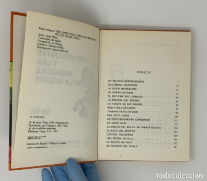 Libros antiguos: LOS HOLLISTER Nº 4. 11ª EDICIÓN AÑO 1980 - Foto 6 - 174464664