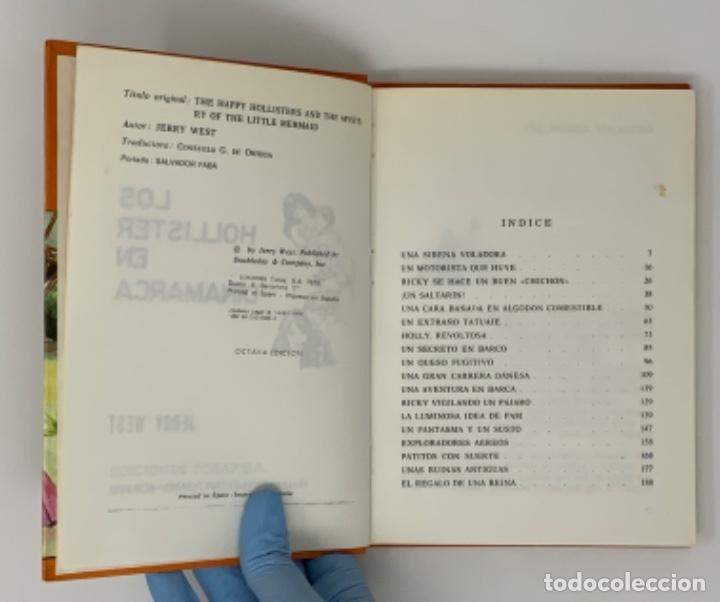 Libros antiguos: LOS HOLLISTER Nº 5. 8ª EDICIÓN AÑO 1979 - Foto 6 - 174464955