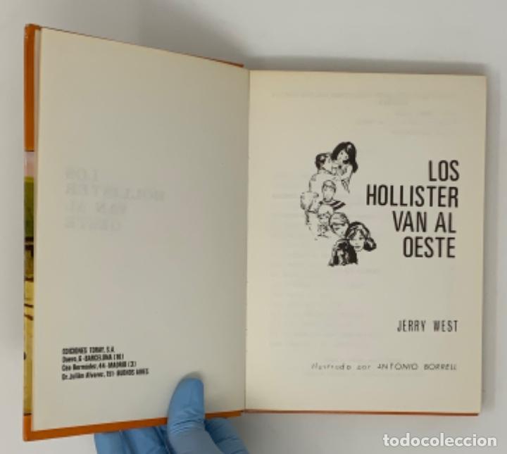 Libros antiguos: LOS HOLLISTER Nº 10. 5ª EDICIÓN - Foto 5 - 174465150