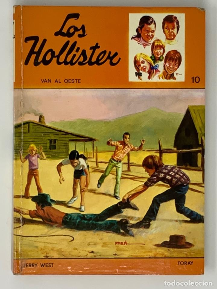 LOS HOLLISTER Nº 10. 5ª EDICIÓN (Libros Antiguos, Raros y Curiosos - Literatura Infantil y Juvenil - Novela)