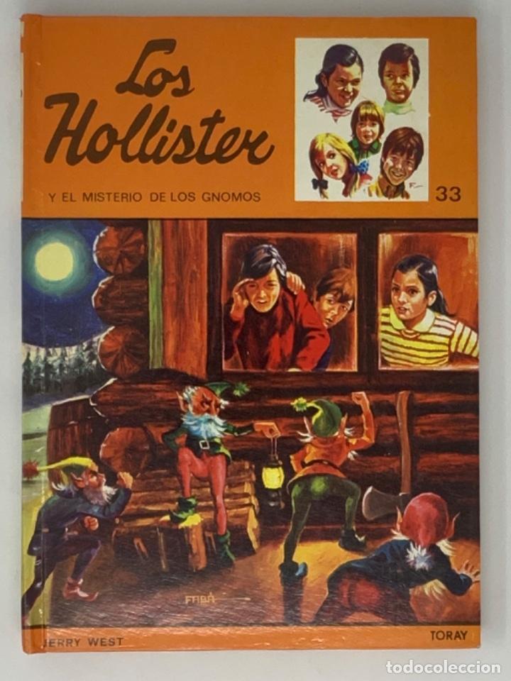 LOS HOLLISTER Nº 33. 6ª EDICIÓN AÑO 1978 (Libros Antiguos, Raros y Curiosos - Literatura Infantil y Juvenil - Novela)