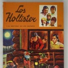 Libros antiguos: LOS HOLLISTER Nº 33. 6ª EDICIÓN AÑO 1978. Lote 174466067