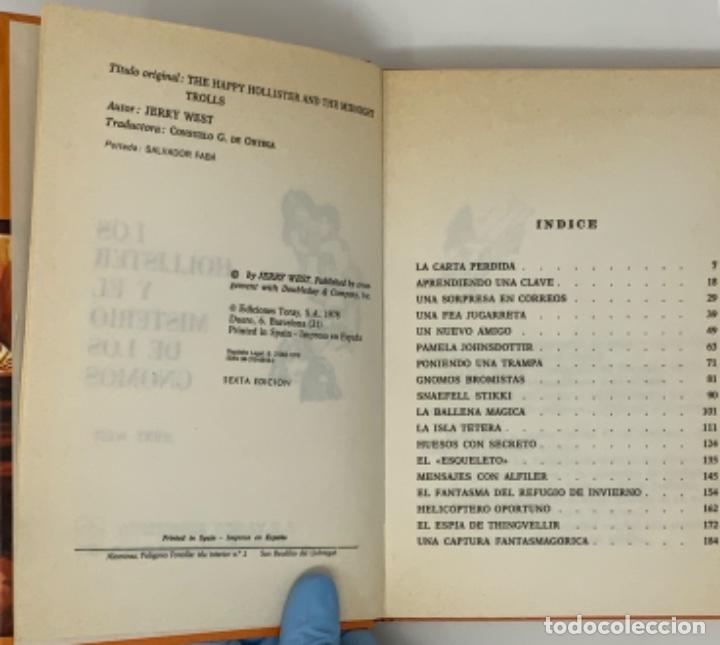 Libros antiguos: LOS HOLLISTER Nº 33. 6ª EDICIÓN AÑO 1978 - Foto 4 - 174466067