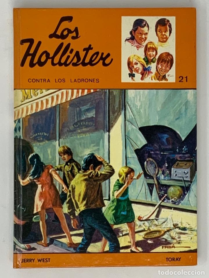 LOS HOLLISTER Nº 21. 8ª EDICIÓN AÑO 1979 (Libros Antiguos, Raros y Curiosos - Literatura Infantil y Juvenil - Novela)