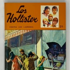 Libros antiguos: LOS HOLLISTER Nº 21. 8ª EDICIÓN AÑO 1979. Lote 174466359