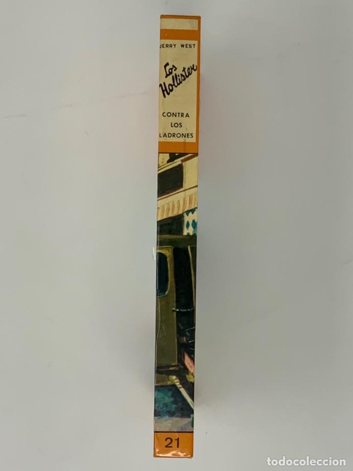 Libros antiguos: LOS HOLLISTER Nº 21. 8ª EDICIÓN AÑO 1979 - Foto 2 - 174466359