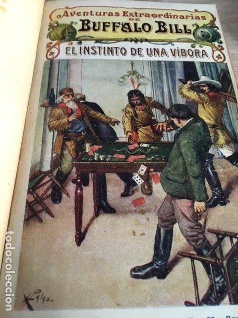 AVENTURAS EXTRAORDINARIAS BUFFALO BILL. EL INSTINTO DE UNA VIBORA. (Libros Antiguos, Raros y Curiosos - Literatura Infantil y Juvenil - Novela)
