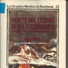 Libros antiguos: VEINTE MIL LEGUAS DE VIAJE SUBMARINO. JULIO VERNE. . Lote 174884224