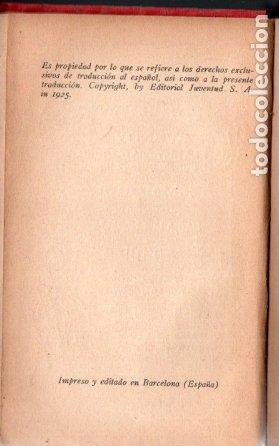 Libros antiguos: J. M. BARRIE : PETER PAN Y WENDY - EDITORIAL JUVENTUD, 1925 - PRIMERA EDICIÓN ESPAÑOLA - Foto 4 - 175397468