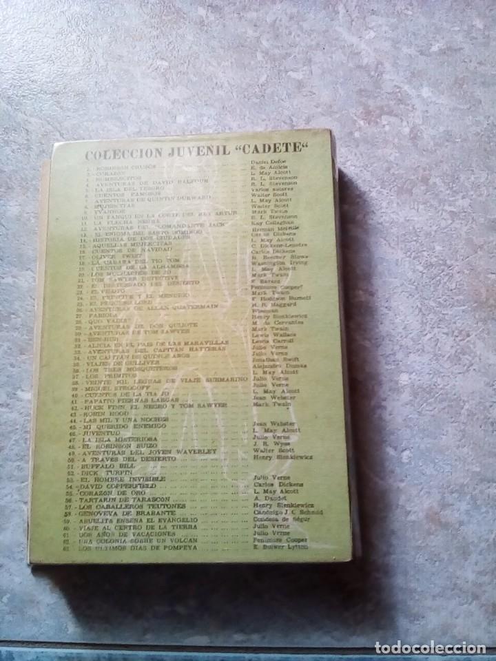 Libros antiguos: Quo Vadis?, de Henry Sienkiewicz. Colección Juvenil Cadete de la Editorial Mateu (1950 aprox.) - Foto 5 - 176205095