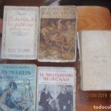 Libros antiguos: BLASCO IBAÑEZ -ED. PROMETEO, 1920 -LOTE DE 4 (UNO SIN PORTADA). Lote 176263383