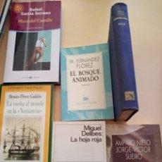 Libros antiguos: LOTE DE 6 LIBROS LITERATURA. Lote 176285160