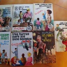 Libros antiguos: ENID BLYTON-7 LIBROS VARIADOS TAPA DURA-EDITORIAL JUVENTUD Y MOLINO. Lote 176364430