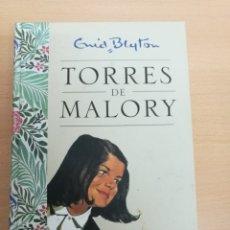 Libros antiguos: LIBRO TORRES DE MALORY DE EMID BLYTON. TODOS LOS CURSOS. TAPA DURA. Lote 177366812