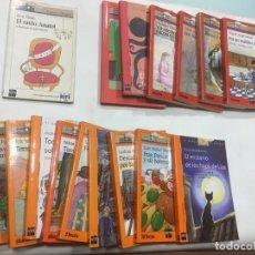 Libros antiguos: LIBROS BARCO DE VAPOR ,CASTELLANO, SERIE BLANCA,NARANJA Y ROJA, 2€ CADA LIBRO. Lote 177429789