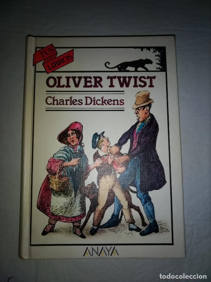 TUS LIBROS - ANAYA OLIVER TWIST - CHARLES DICKENS - PRIMERA EDICION 1990 (Libros Antiguos, Raros y Curiosos - Literatura Infantil y Juvenil - Novela)