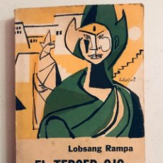 Libros antiguos: LOBSANG RAMPA - EL TERCER OJO. Lote 179521276