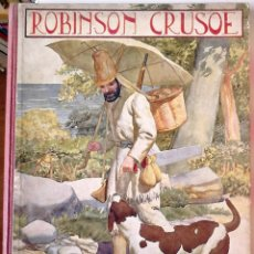 Libros antiguos: DANIEL DEFOE - AVENTURAS DE ROBINSON CRUSOE. Lote 180459427